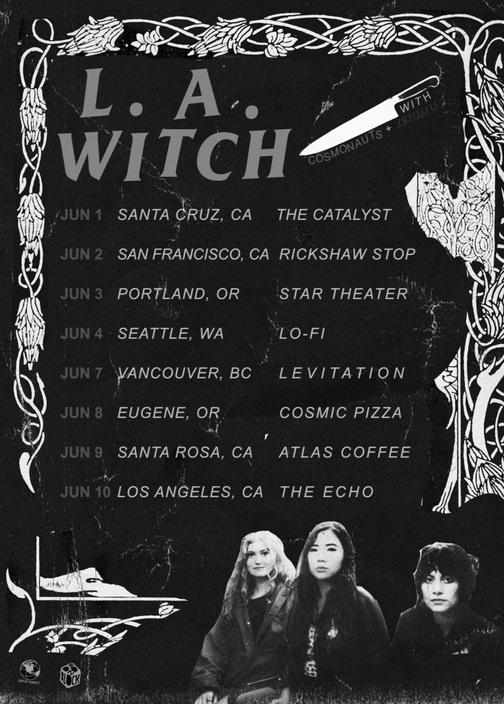 L.A.WITCH_JUN-2015_Tour-Poster